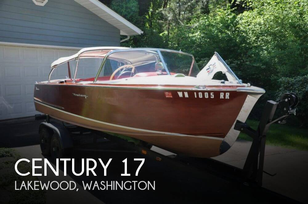 Used Century Boats For Sale in Washington by owner | 1959 Century 17