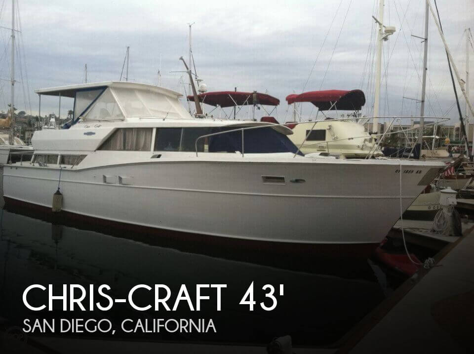 Used Motoryachts For Sale in California by owner | 1968 Chris-Craft 43