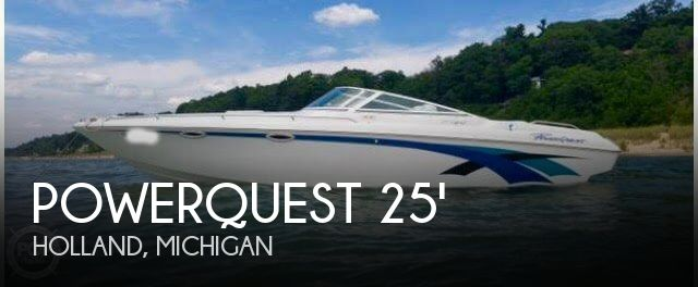 SOLD: Powerquest LEGEND 257 XL boat in Holland, MI | 122450