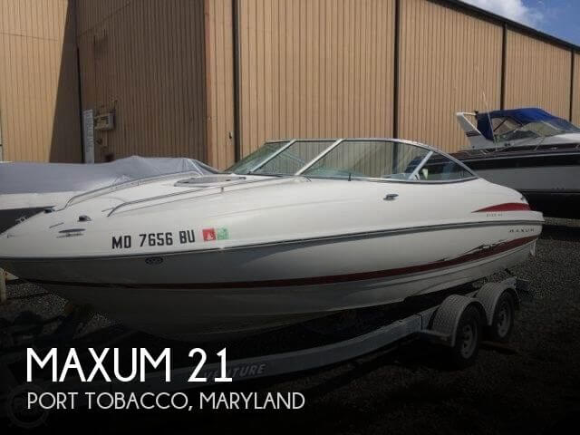 Used Maxum Boats For Sale in Maryland by owner | 2005 Maxum 21