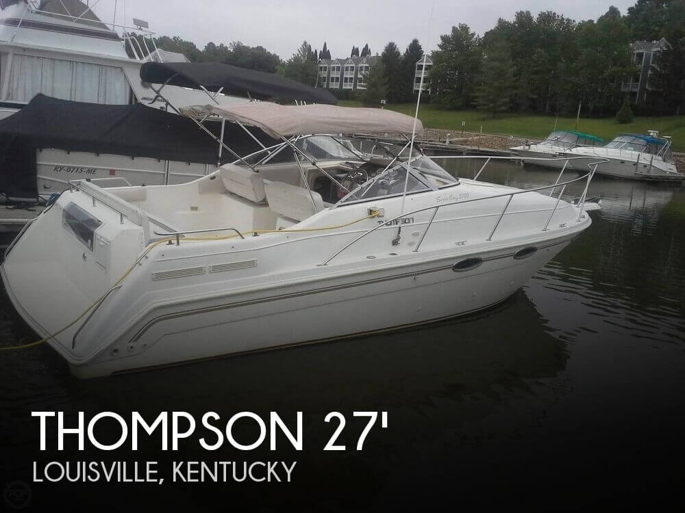 For sale used 1995 thompson santa cruz 2700 in louisville for Fishing in louisville ky