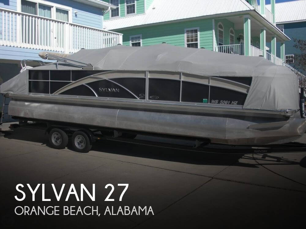 Used Pontoon Boats For Sale by owner | 2013 Sylvan 27