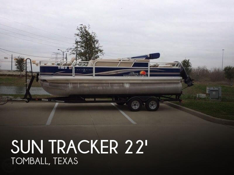 Used Pontoon Boats For Sale in Texas by owner | 2014 Sun Tracker 22