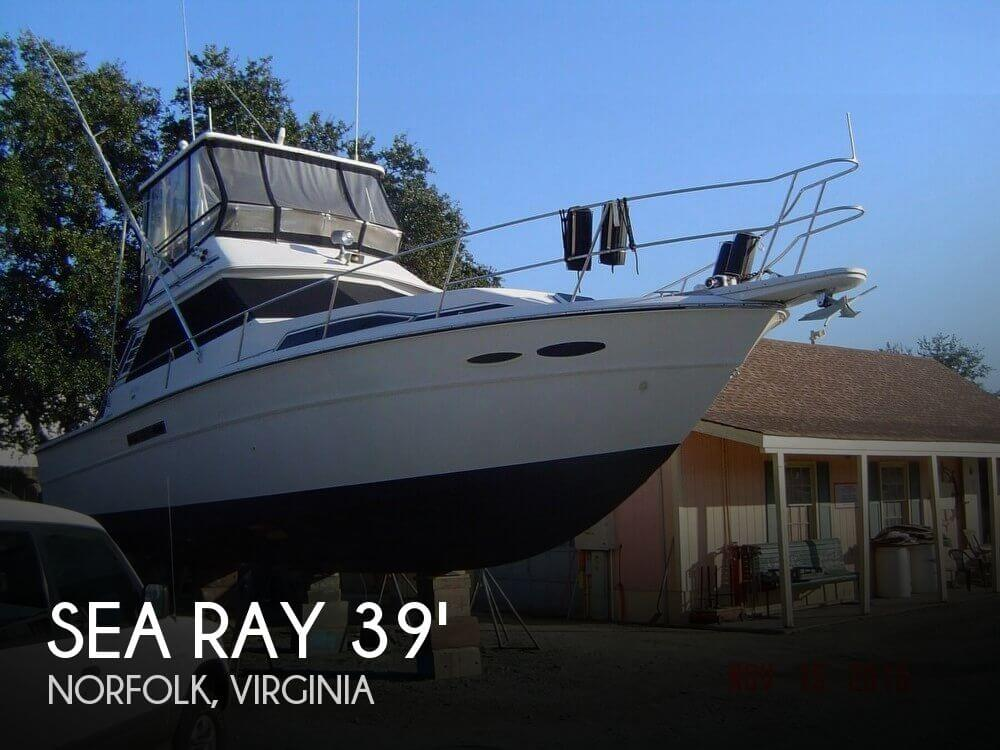Sold Sea Ray 390 Sportfisherman Boat In Norfolk Va 122493