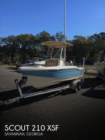 Used Boats For Sale in Savannah, Georgia by owner | 2015 Scout 21