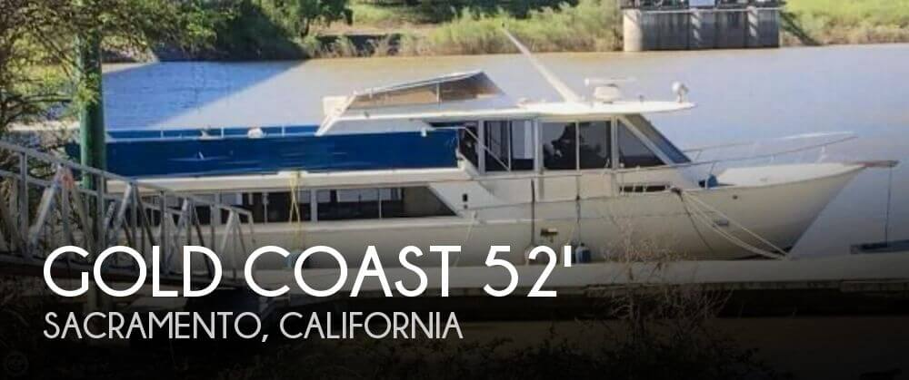 Used Boats For Sale in Modesto, California by owner | 1980 Gold Coast 52