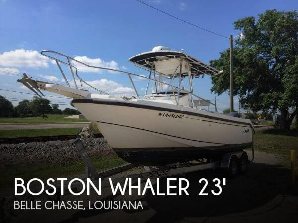 Used Boston Whaler Boats For Sale by owner | 2002 Boston Whaler 23