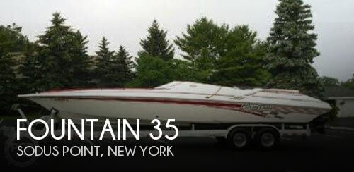 Used Boats For Sale in Syracuse, New York by owner | 1999 Fountain 35
