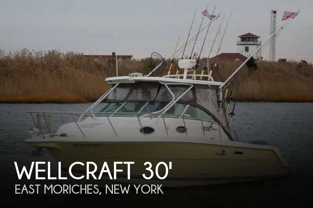 For sale used 2004 wellcraft coastal 290 tournament for Moriches boat and motor