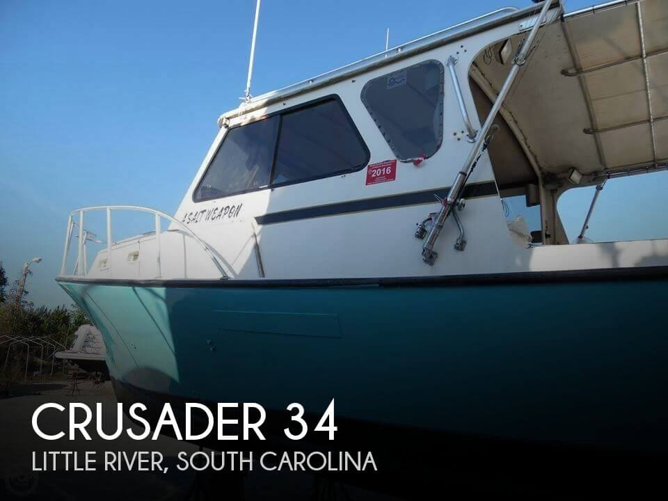 Used Boats For Sale in Myrtle Beach, South Carolina by owner | 1985 Crusader 34