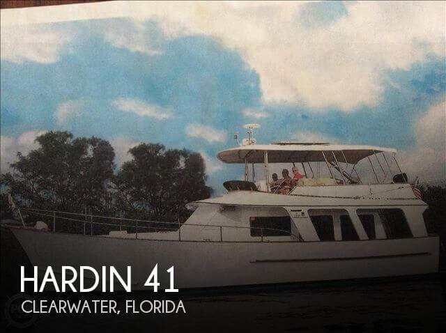 Used HARDIN Boats For Sale by owner | 1981 Hardin 41