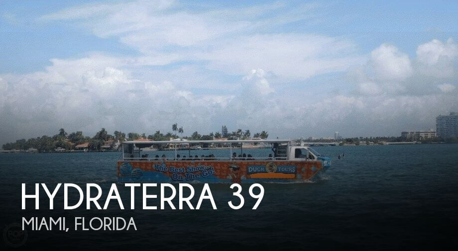 Used 39 Boats For Sale by owner | 2000 Hydraterra 39