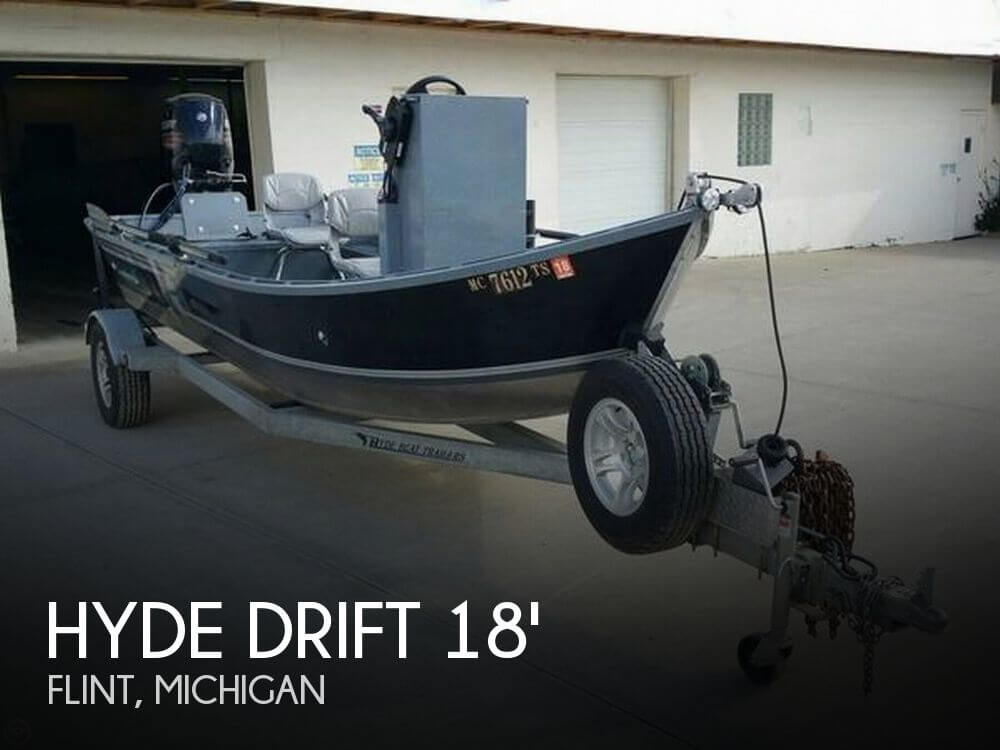 Used Fishing boats For Sale in Michigan by owner | 2015 Hyde Drift 18