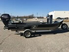 2015 Hyde Power Drifter, Mercury 80 H.P. Jet Drive, Custom Trailer