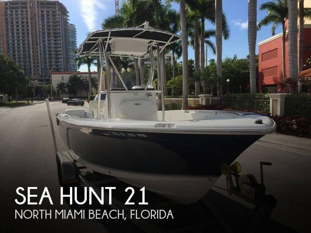For Sale Used 2013 Sea Hunt 21 In North Miami Beach