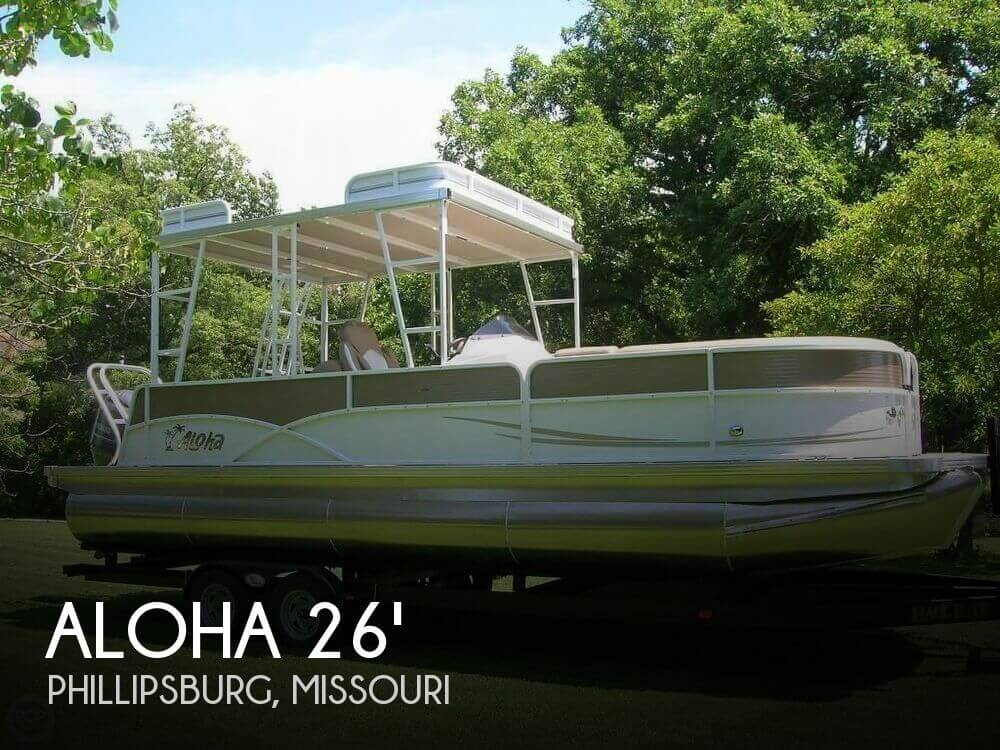 Used Boats For Sale in Springfield, Missouri by owner | 2017 Aloha Pontoon 26