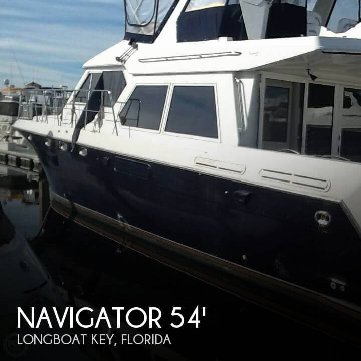 Used Boats For Sale in North Port, Florida by owner | 1998 Navigator 54