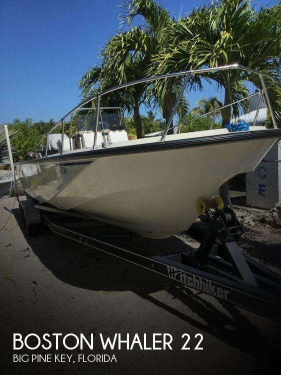 Used Boston Whaler Boats For Sale in Florida by owner | 1987 Boston Whaler 22