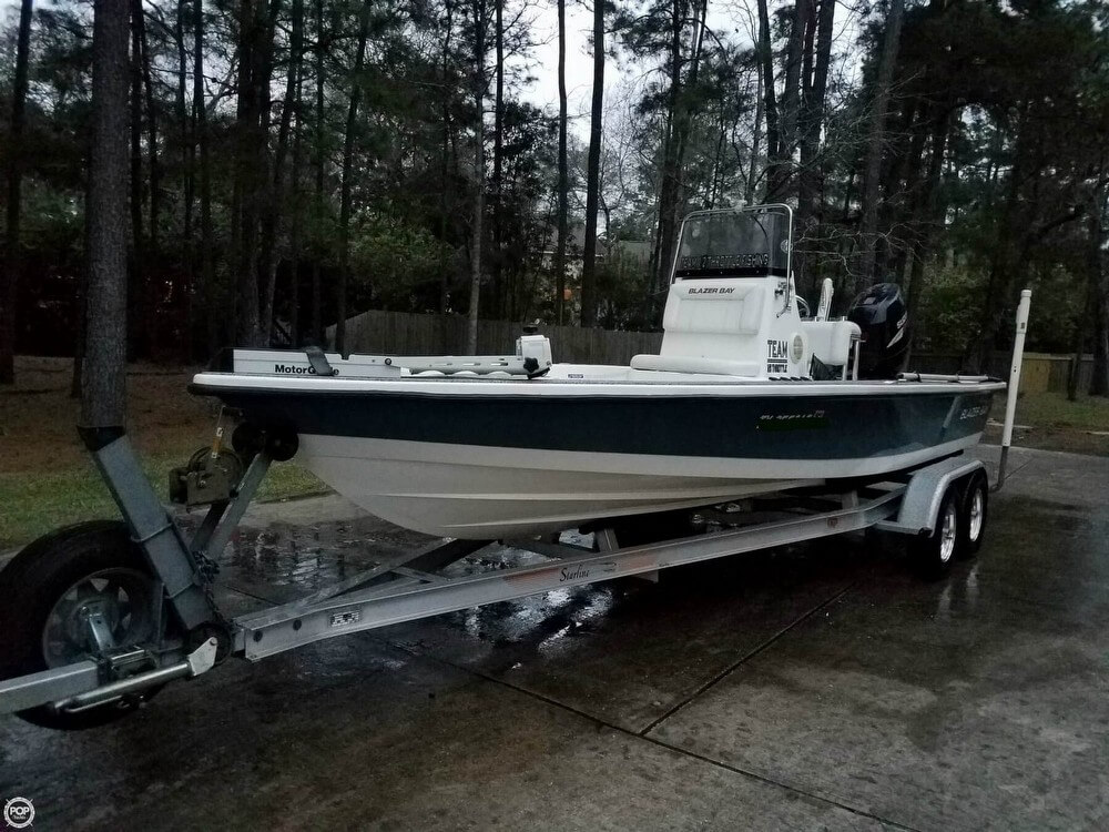 Blazer Bay Dealer Conroe Tx >> Sold Blazer Bay 2220 Fisherman Boat In Spring Tx 122832
