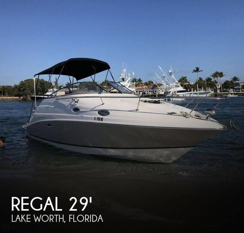 Used Regal Boats For Sale in Florida by owner | 2006 Regal 29