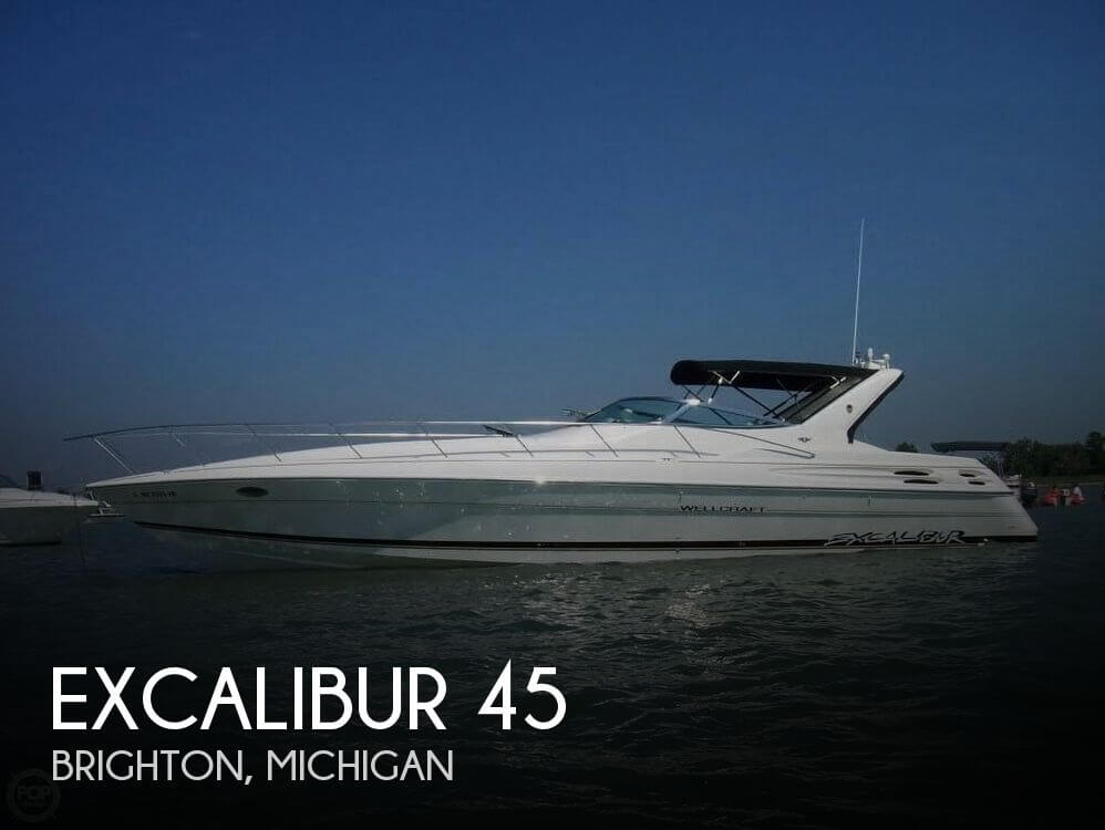 Used Boats For Sale in Lansing, Michigan by owner | 1996 Excalibur 44