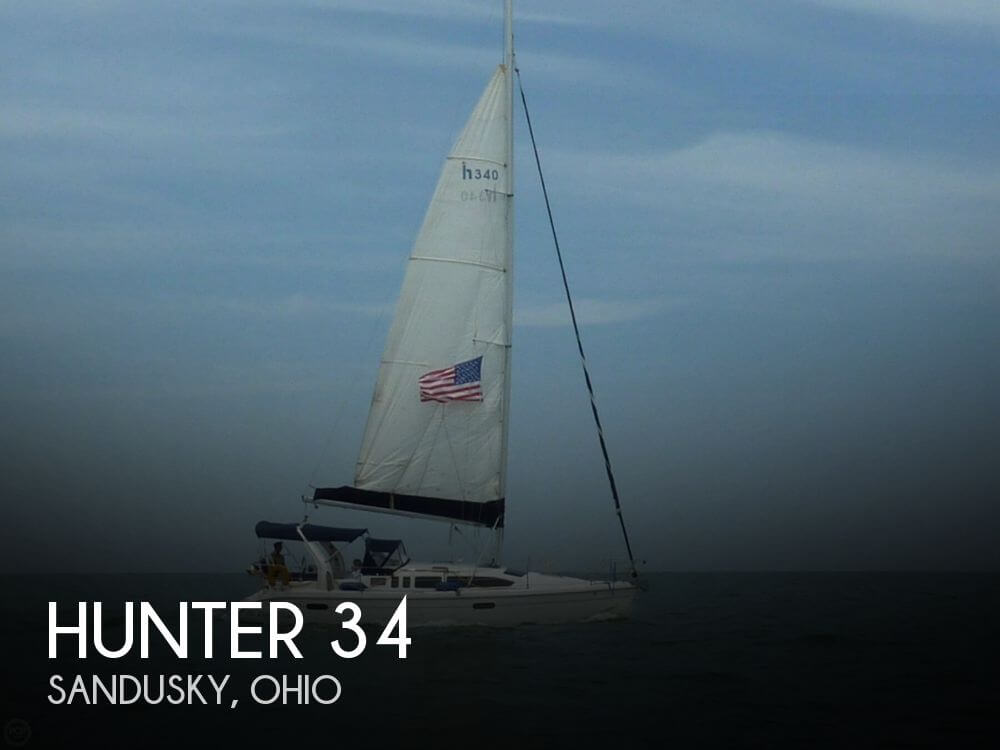 Used Boats For Sale in Cleveland, Ohio by owner | 1999 Hunter 34