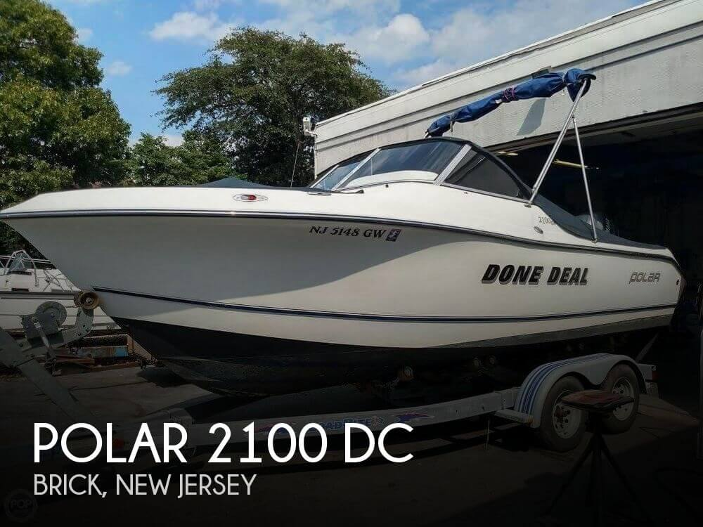Used Polar Boats For Sale by owner   2005 Polar 2100 DC