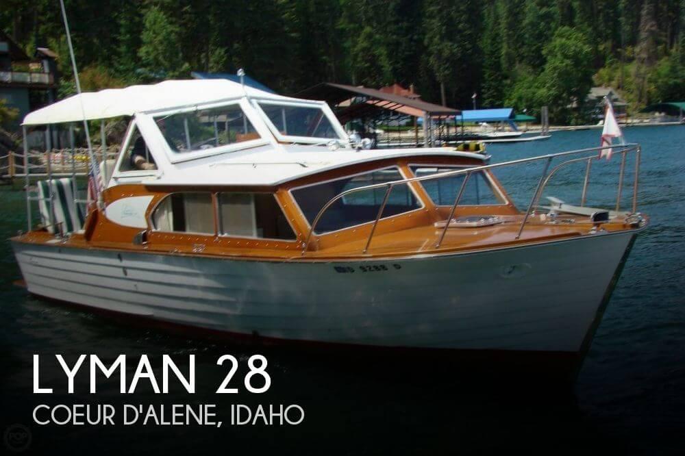 28 Foot Lyman 28 28 Foot Motor Boat In Coeur D Alene Id