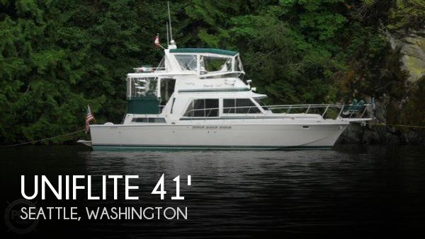 Used Fishing boats For Sale in Washington by owner | 1983 Uniflite 41