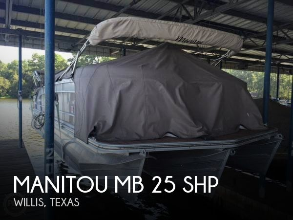 Used Pontoon Boats For Sale in Texas by owner | 2013 Manitou 25