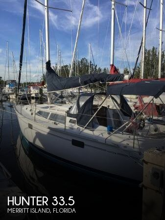 Used Hunter Sailboats For Sale in Florida by owner | 1993 Hunter 33