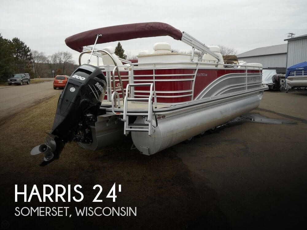 For sale used 2014 harris solstice 240 in somerset for Used outboard motors for sale wisconsin