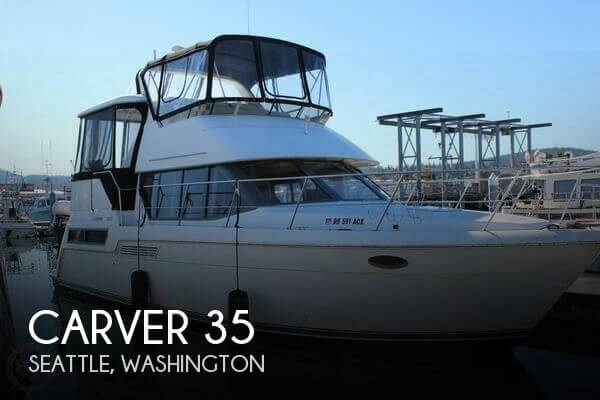 Used Carver Boats For Sale by owner | 1996 Carver 35