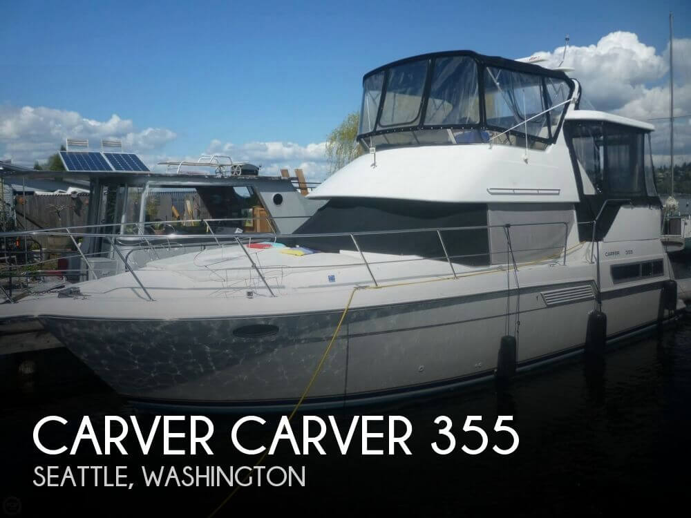 1996 CARVER CARVER 355 for sale