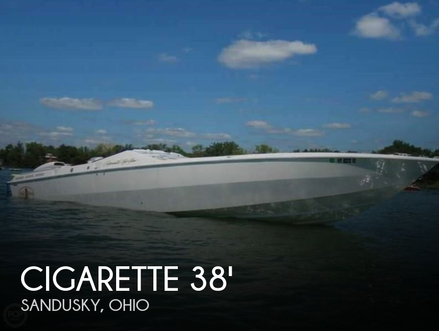 Used Boats For Sale in Cleveland, Ohio by owner | 1993 Cigarette 38