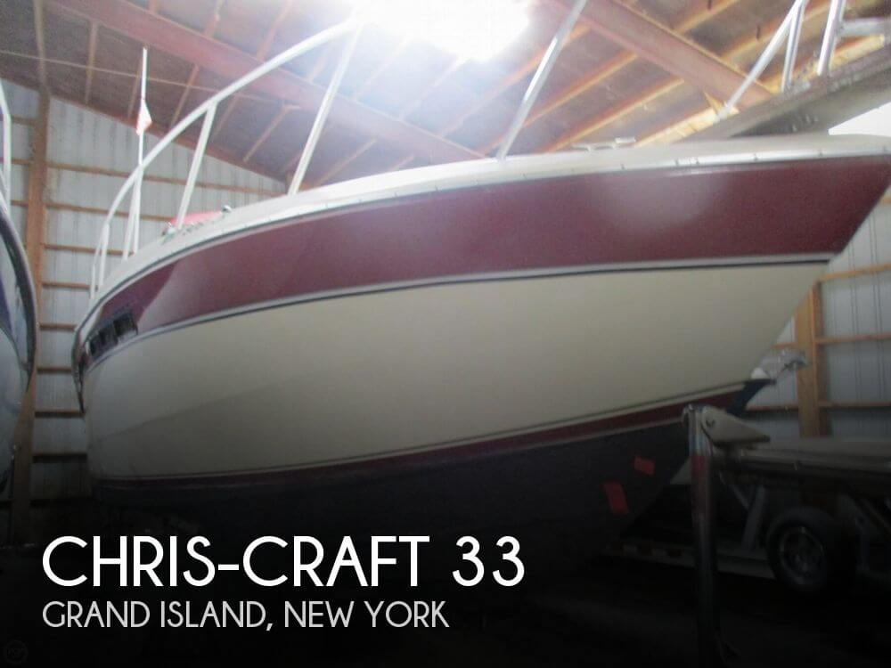 Used Chris-Craft Boats For Sale in New York by owner | 1986 Chris-Craft 33