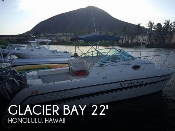 Used Boats For Sale in Honolulu, Hawaii by owner | 2008 Glacier Bay 22