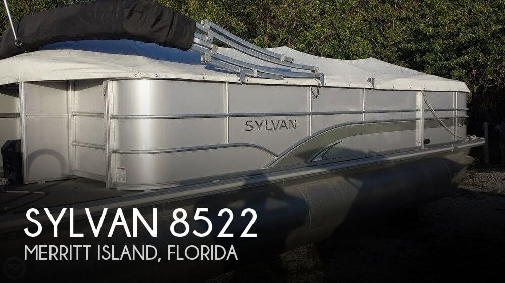 Used Pontoon Boats For Sale in Florida by owner | 2015 Sylvan 24