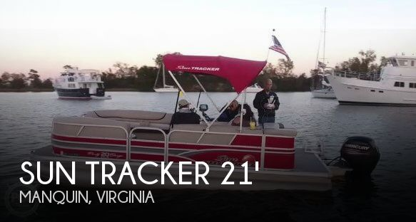 2015 SUN TRACKER 20 DLX PARTY BARGE for sale
