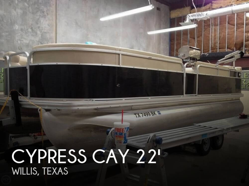 Used Pontoon Boats For Sale in Texas by owner | 2011 Cypress Cay 22