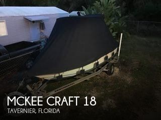 Used Mckee craft Boats For Sale by owner | 2003 Mckee Craft 18