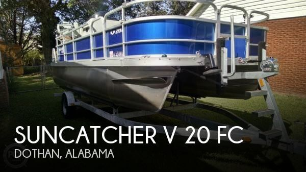 Used Boats For Sale in Dothan, Alabama by owner | 2015 Suncatcher 20