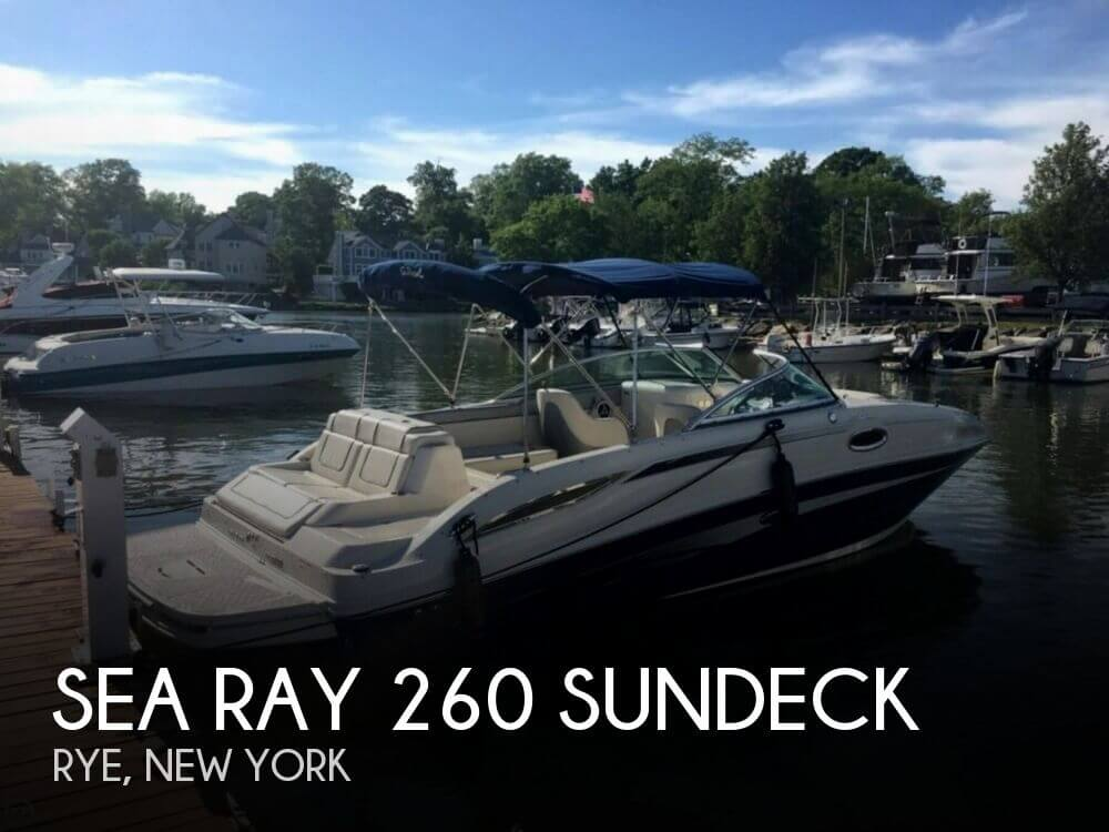 Used Sea Ray Deck Boats For Sale by owner | 2009 Sea Ray 260 Sundeck