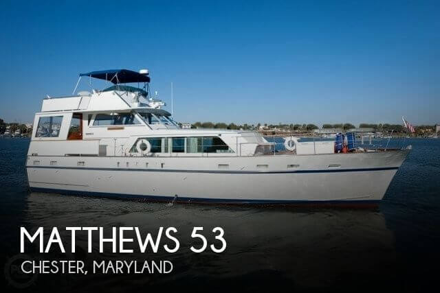 Used Matthews Boats For Sale by owner | 1970 Matthews 53