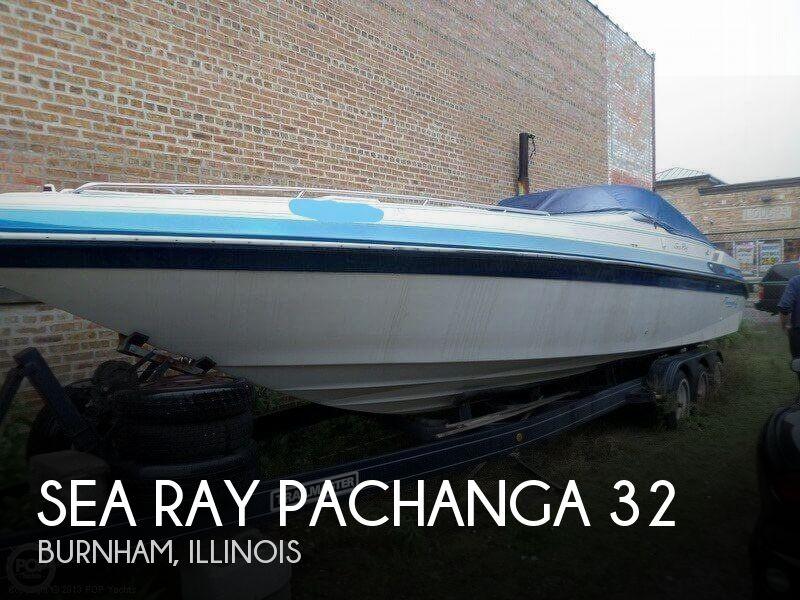 1987 SEA RAY PACHANGA 32 for sale