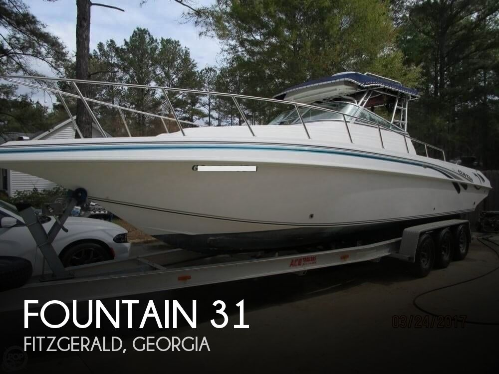1998 Fountain 31 Sportfish