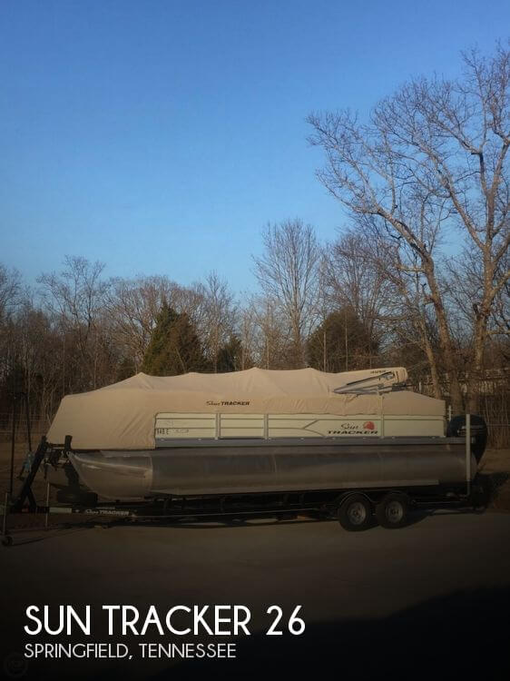 Used Bass tracker Boats For Sale by owner | 2016 Sun Tracker 26