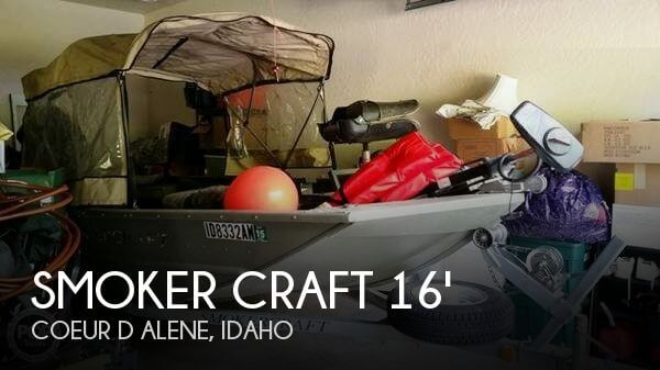 2007 SMOKER CRAFT 1660 SPORTSMAN TILLER for sale