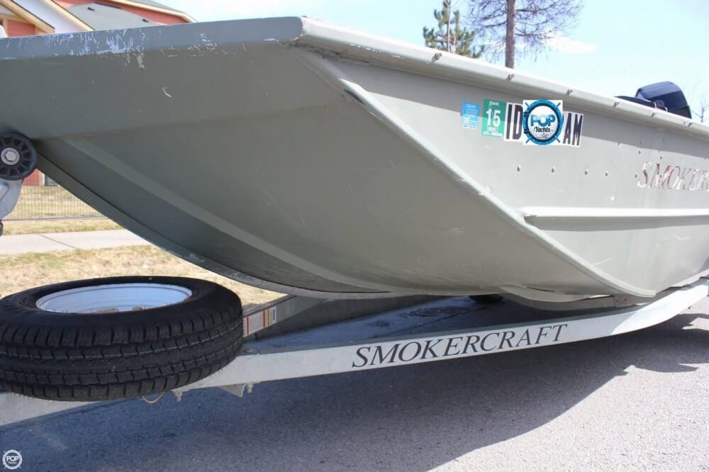 2007 Smoker Craft boat for sale, model of the boat is 1660 Sportsman Tiller & Image # 8 of 41