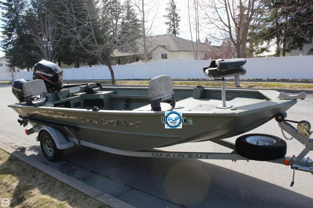 2007 Smoker Craft boat for sale, model of the boat is 1660 Sportsman Tiller & Image # 19 of 41